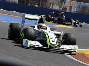Barrichello GP Europa 2009
