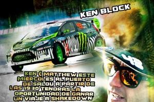 Ken Block rallye Cataluña