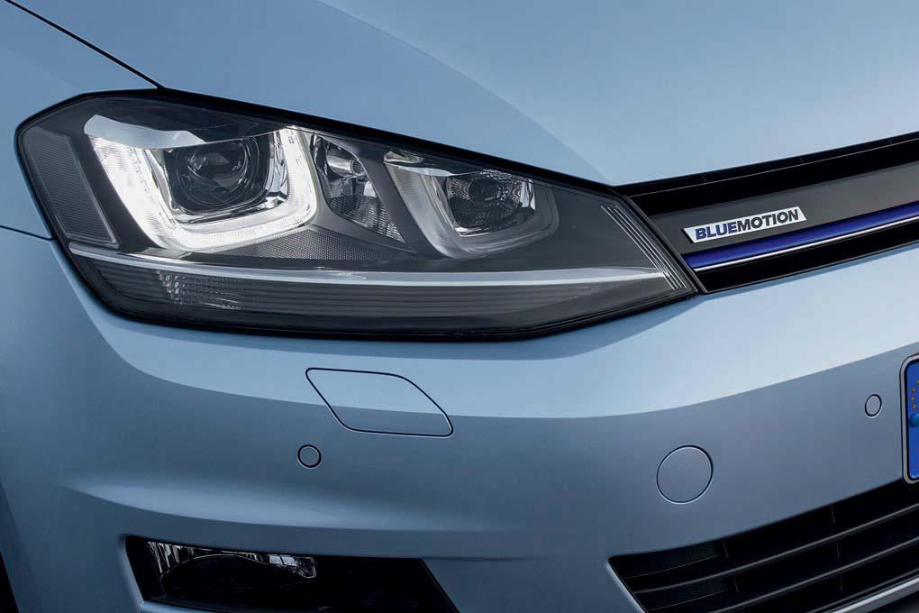 VW Golf BlueMotion 2013