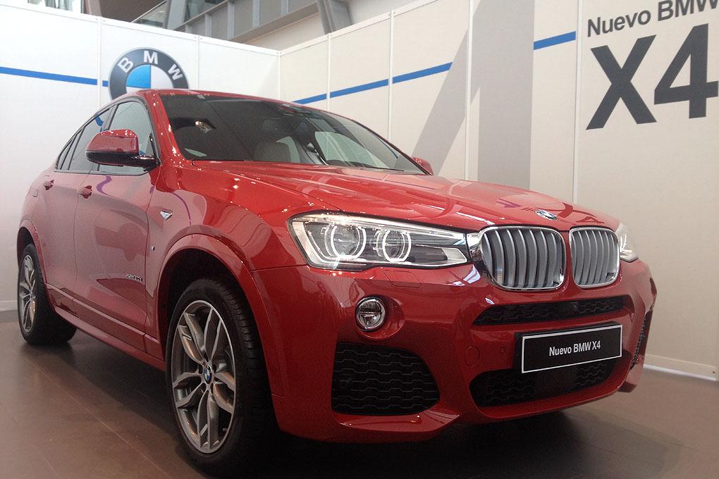 BMW X4 detalle parte delantera