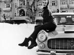 Brigitte Bardot Flaminia Coupe Pininfarina
