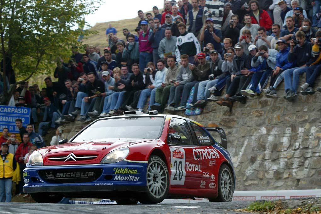 Philippe Bugalski Rallye San Remo 2003