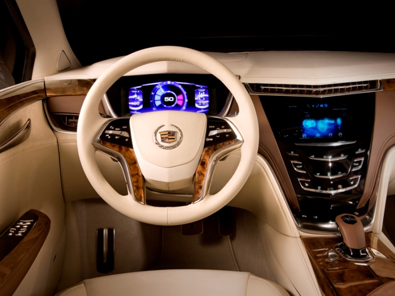 Interior Cadillac XTS Platinum concept