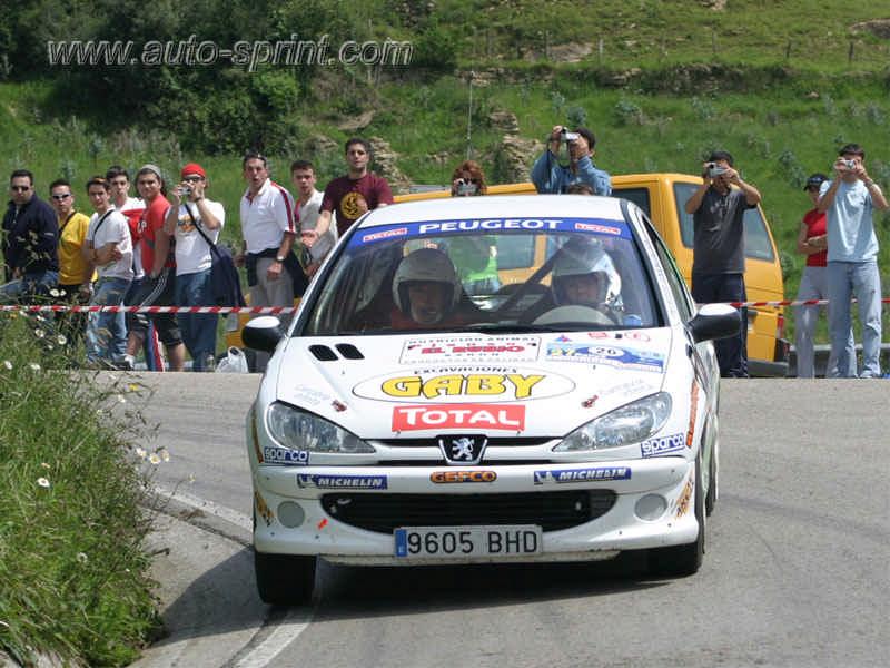Rallye Cantabria 2005 Desafio Peugeot