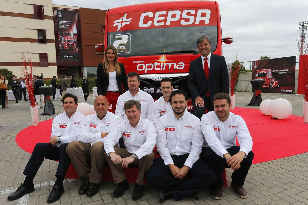 Presentacion equipo camiones 2013