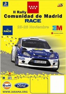 Cartel Rally Madrid 2011