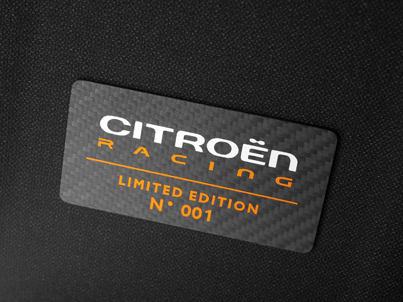 El Citroën DS3 Racing está limitado a 1.000 unidades