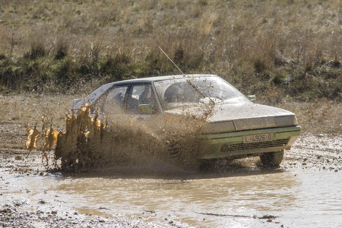 Citroen BX en el Spain Classic Raid