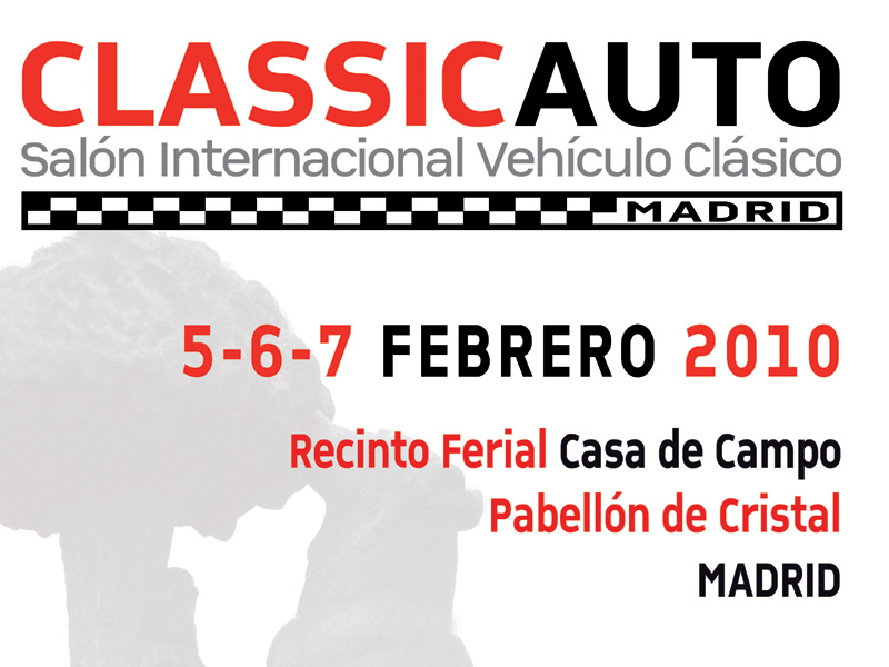 Cartel oficial de ClassicAuto Madrid