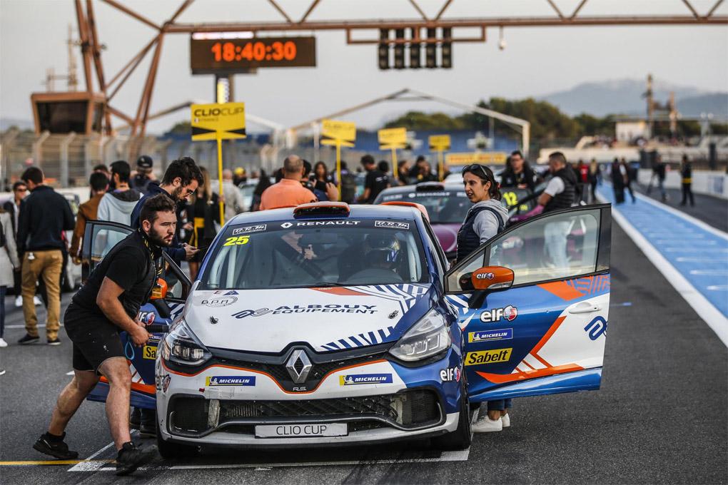 Clio Cup de circuitos 2020