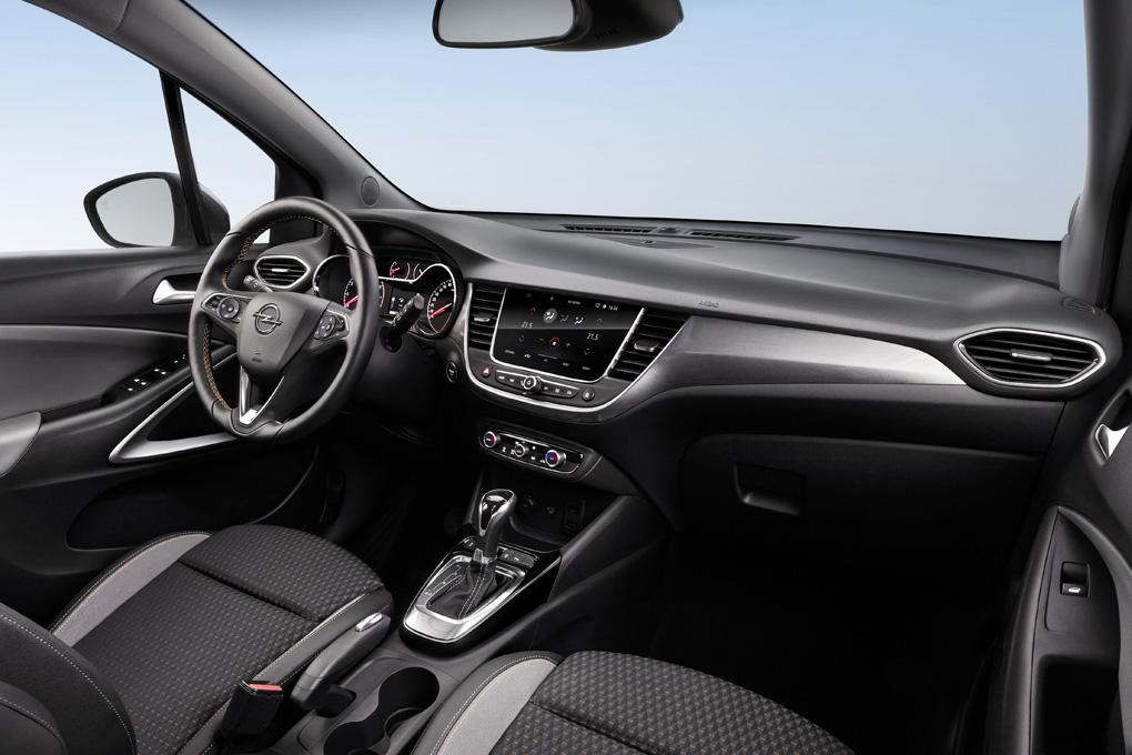 Interior del Opel Crossland