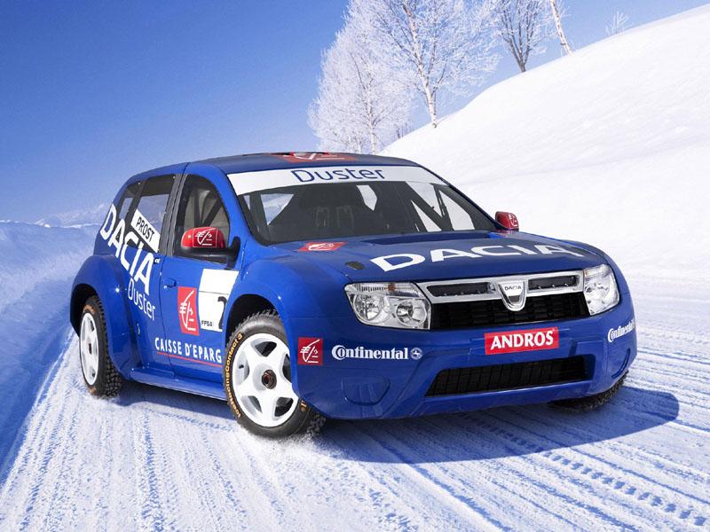 Dacia Trofeo Andros Alain Prost