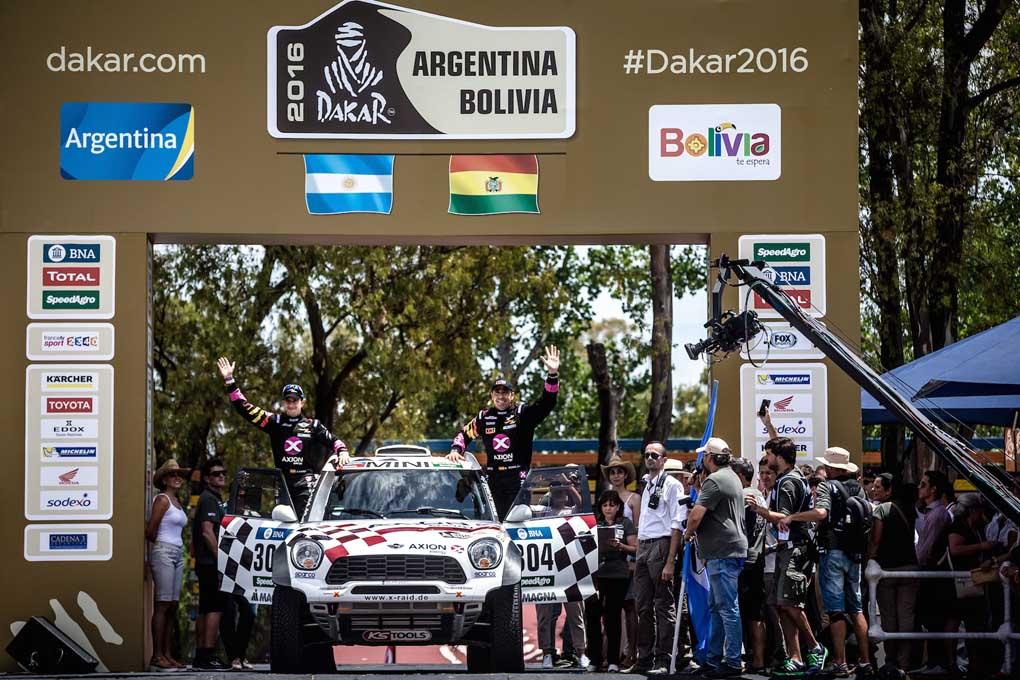 Nani Roma en el Rally Dakar 2016