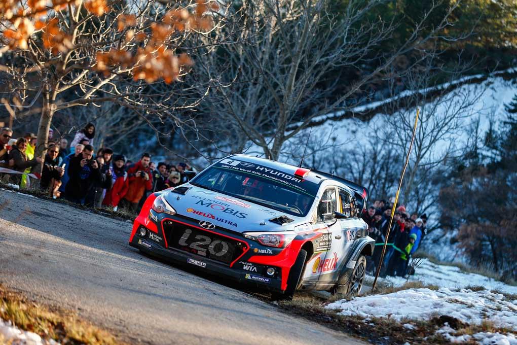 WRC Rallye Monte Carlo, Dani Sordo