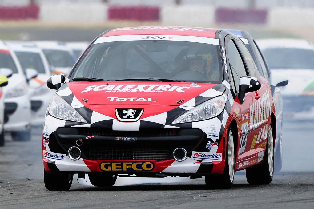 David Cebrian Copa Peugeot 207