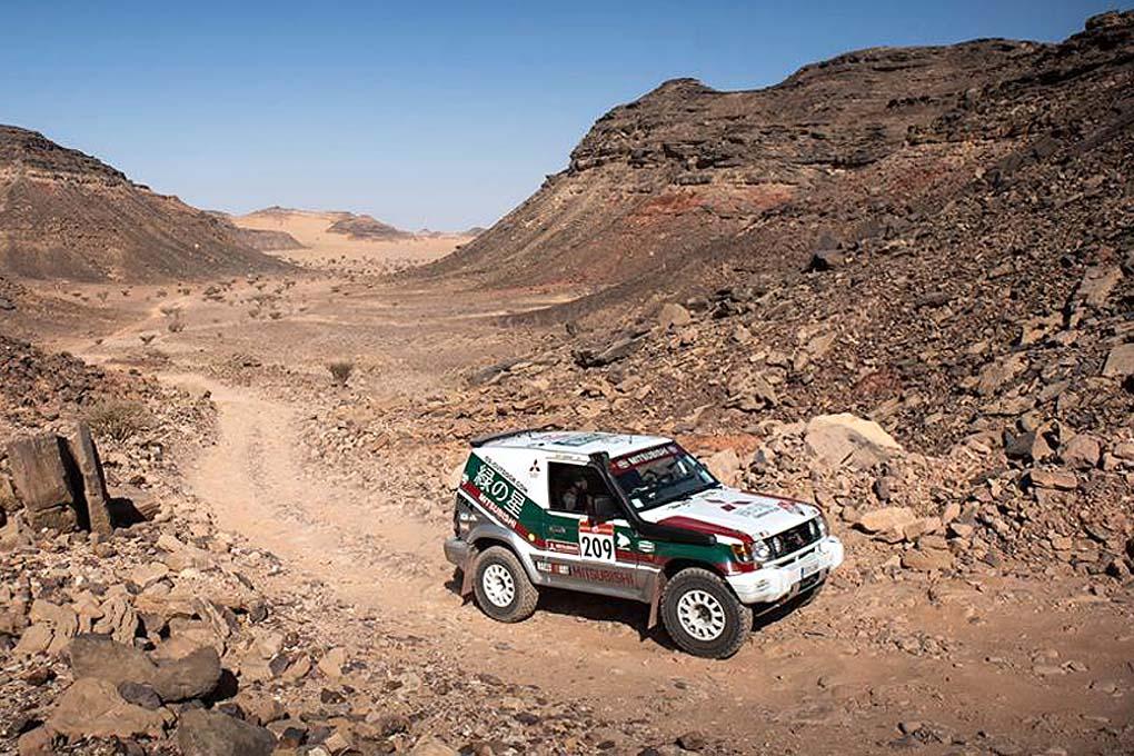 Donatiu - Serrat en el Dakar 2021