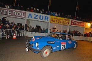 Citroen DS Tiburón de rallyes
