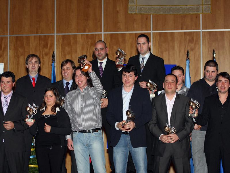 Entrega de Premios Asturias 2008