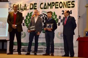 Campeones 2014 Extremadura Rallyes Asfalto