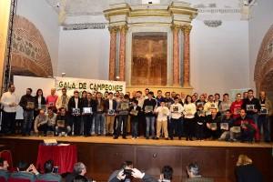 Foto de familia campeones 2014 Extremadura