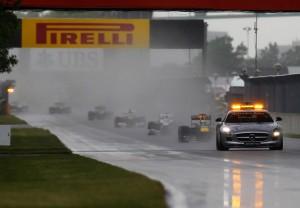 F1 Canada 2011 safety car