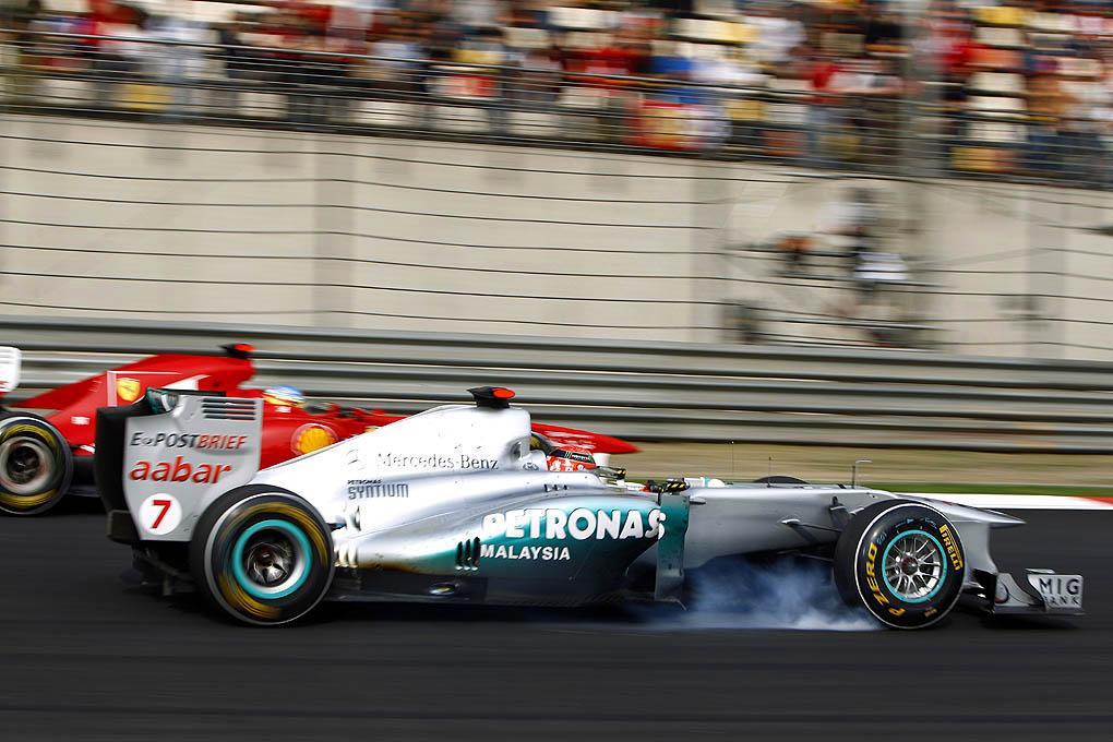 Michael Schumacher 2011