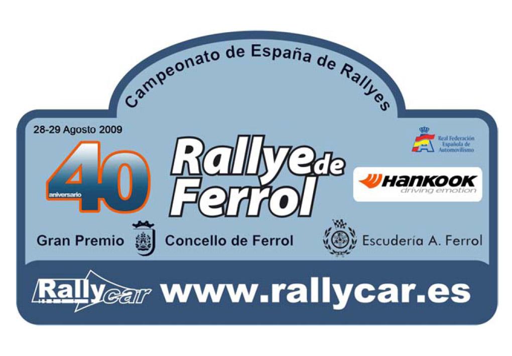 Rallye de Ferrol placa