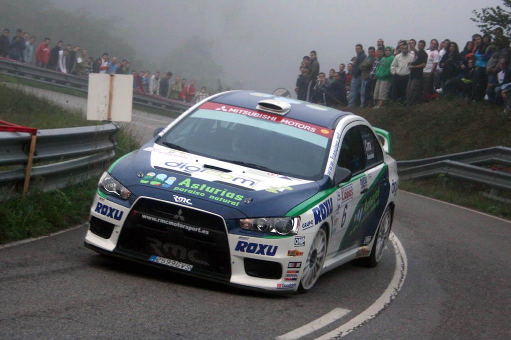 Fran Cima Rallye Llanes 2010