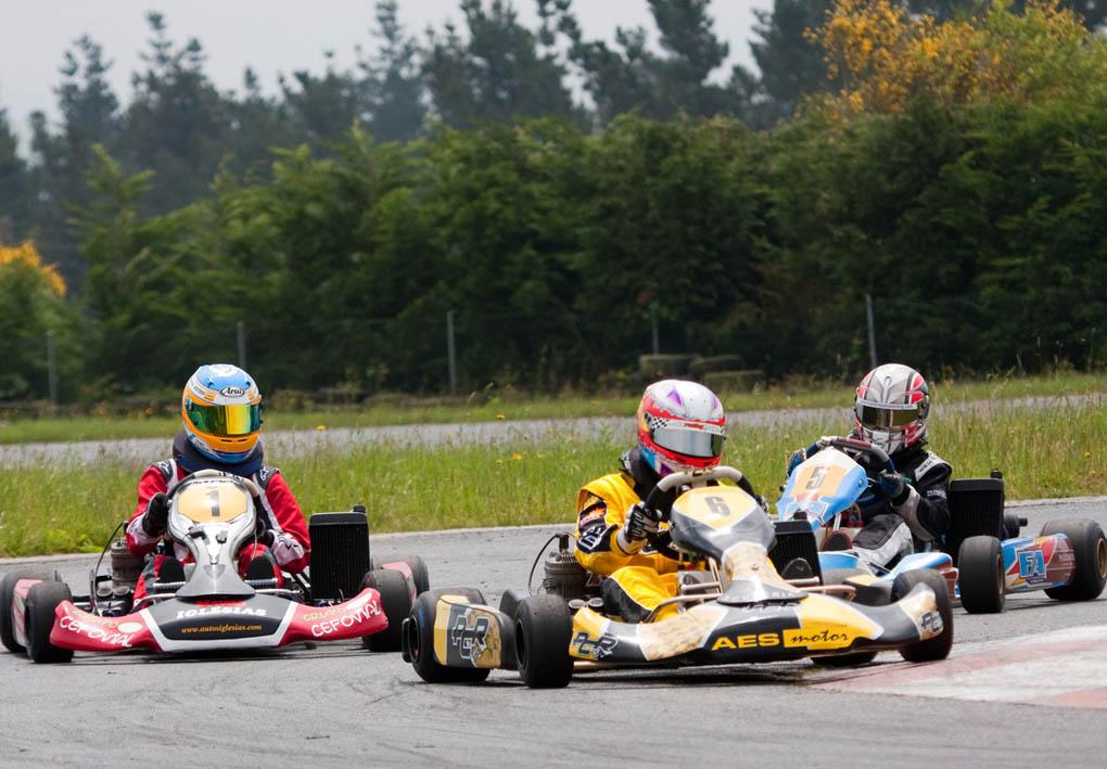 Cuarta carrera del Campeonato karting Galicia 2011