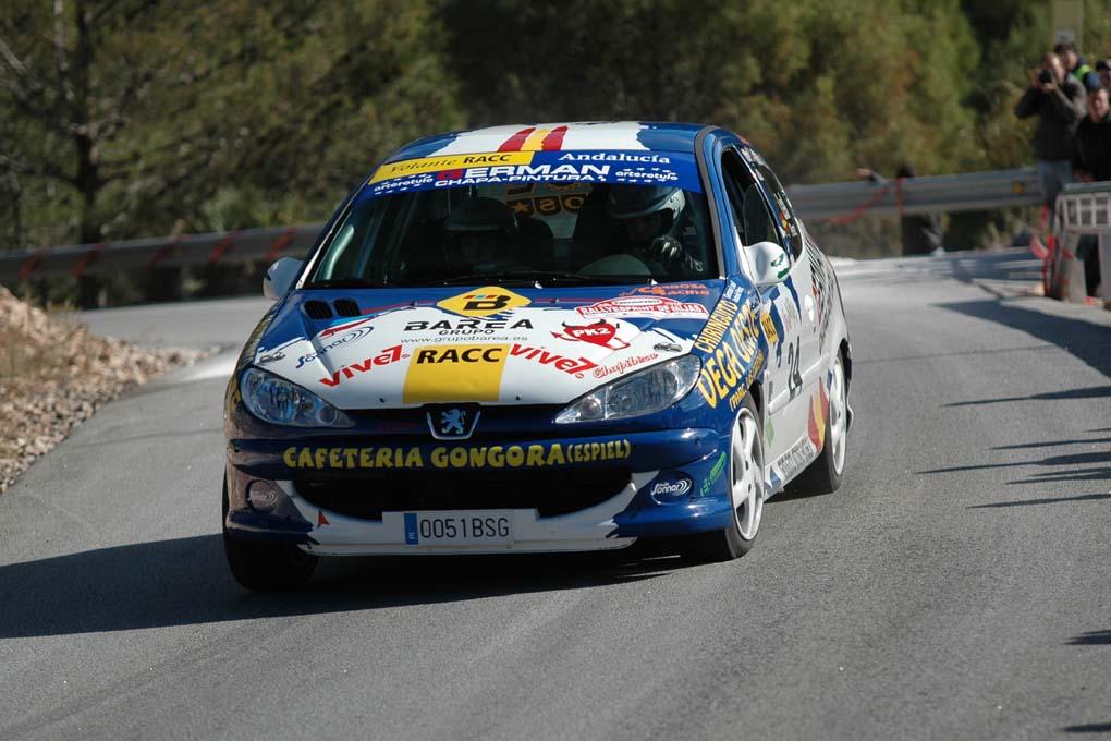 Germán Leal y Antonio Pérez Peugeot 206 XS
