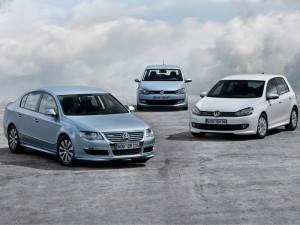 VW Golf, Passat y Polo Bluemotion