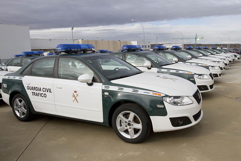 Seat Exeo Guardia Civil de Trafico
