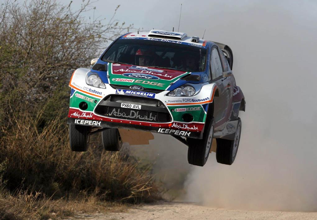 Mikko Hirvonen 2011 Rally Argentina