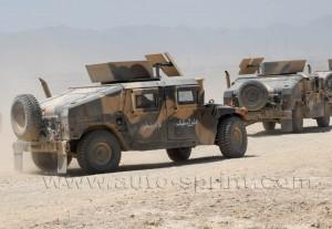 los coches de la guerra de Afganistan