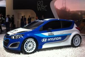 Hyundai i20 WRC Salón de Paris