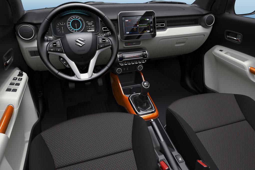Interior del Suzuki Ignis