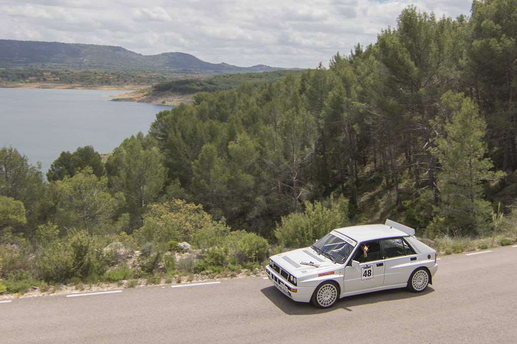 Lancia Delta Integrale en el I Spain Classic Rally