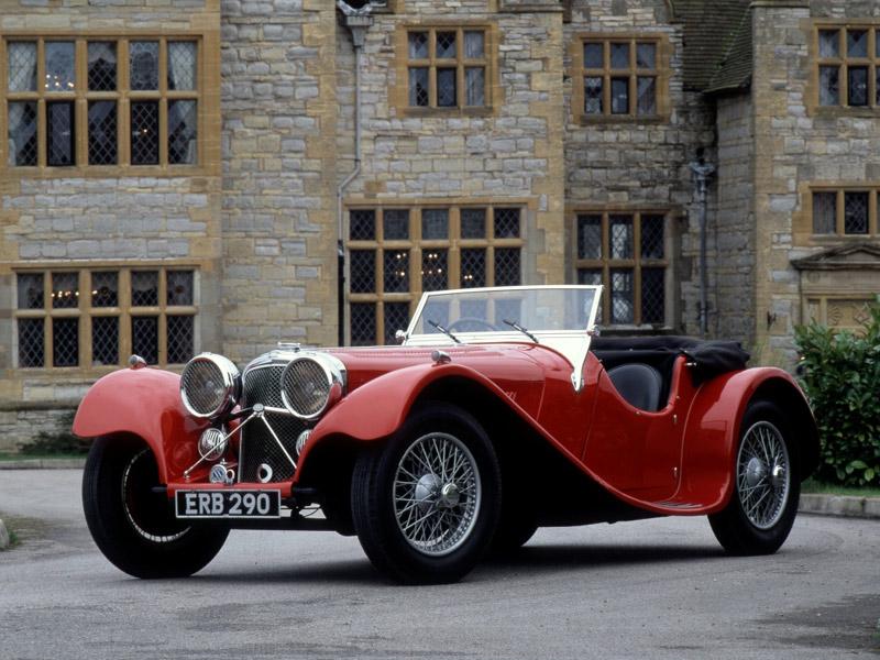 SS 100, el primer Jaguar de la historia