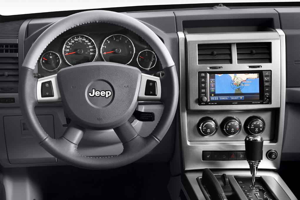 interior Jeep Cherokee