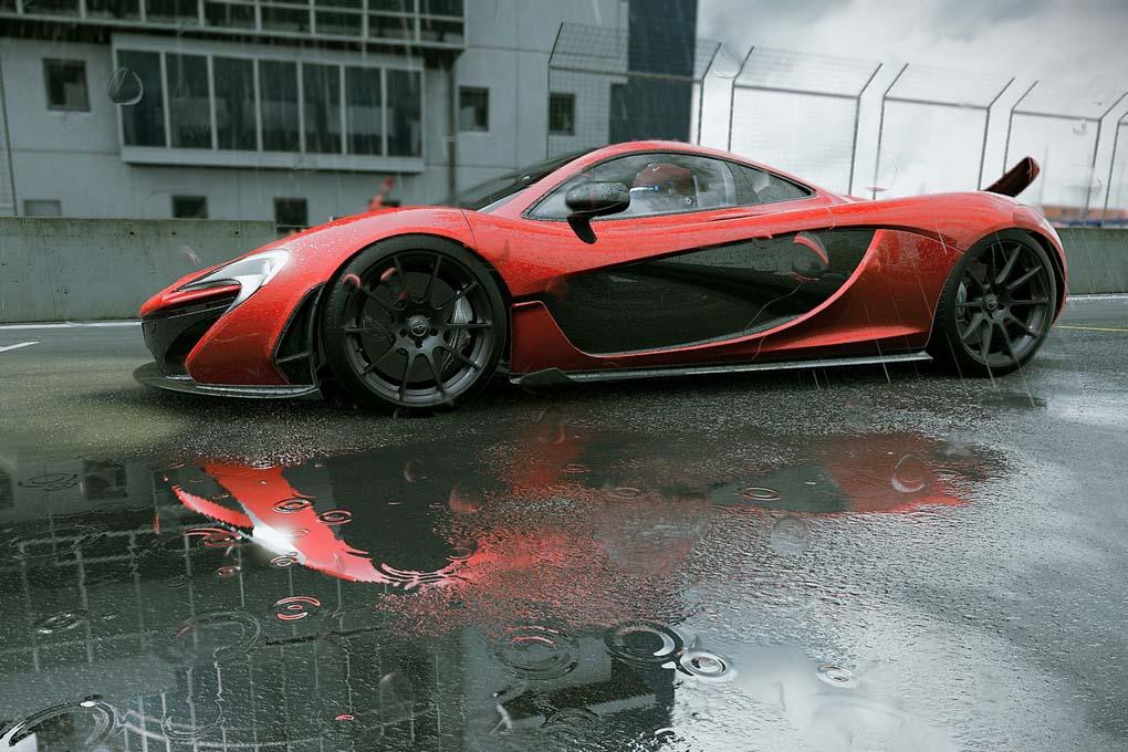Coches deportivos en el juego Project CARS