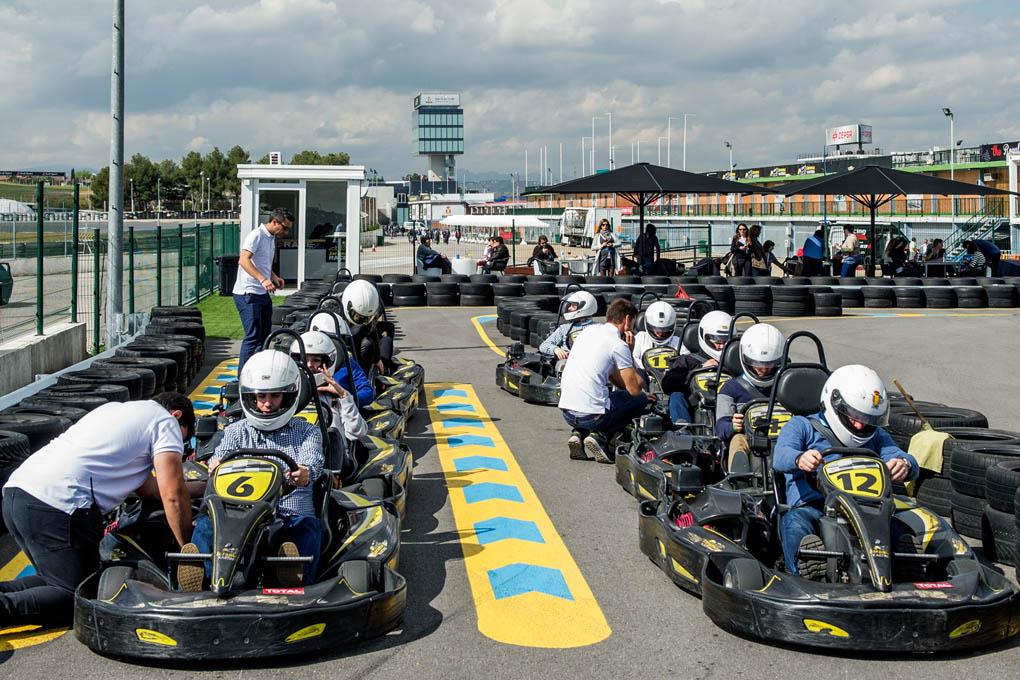 Karting en el Circuito del Jarama