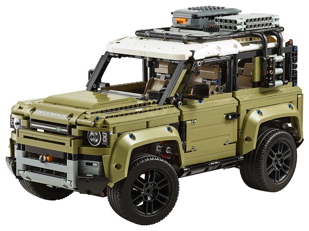 Land Rover de Lego