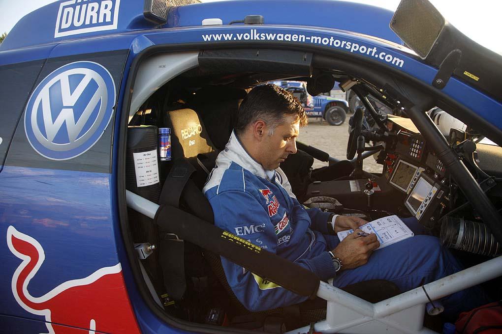 Lucas Cruz Rallye Dakar 2011