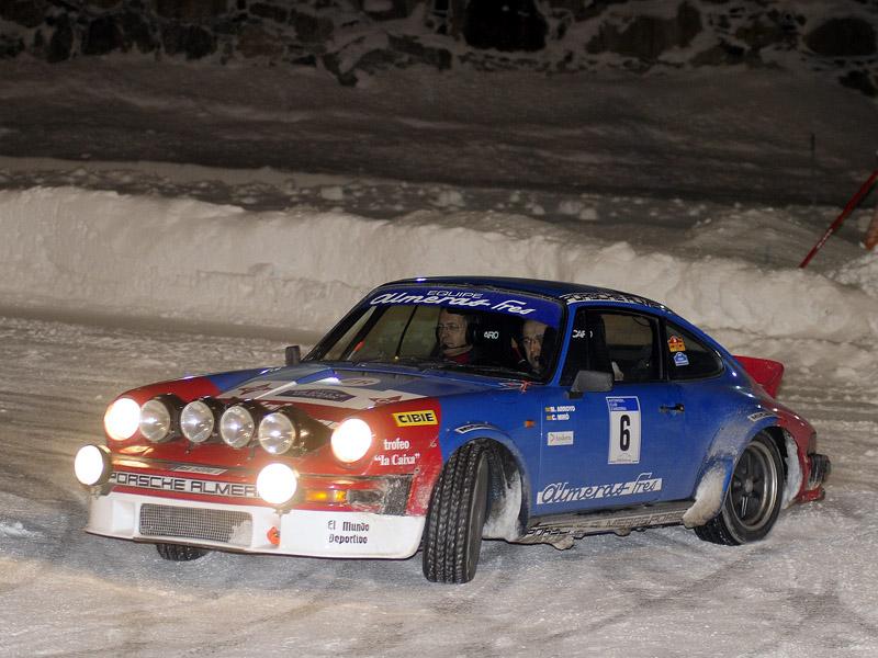 M Arroyo en el rally hivern 2010