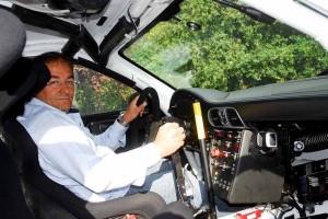 Manolo Cabo con Porsche 911 gt3