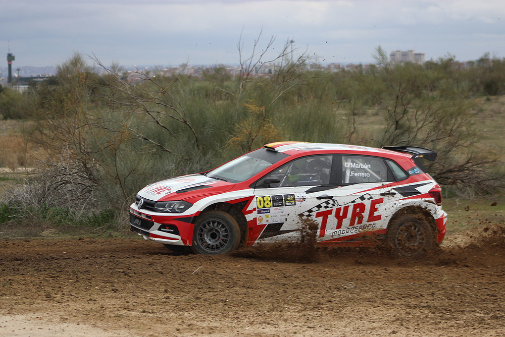 Marban gana el II Rally de Madrid de Tierra