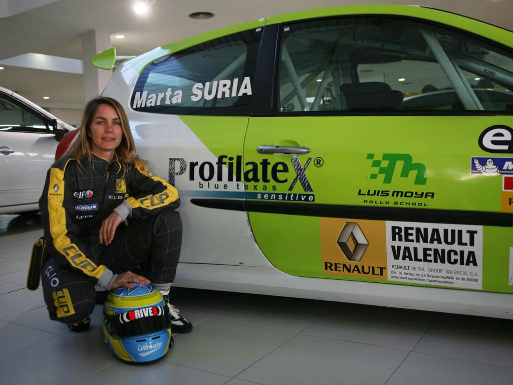 Marta Suria Clio circuitos 2010