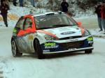 Carlos Sainz en el Rally Monte Carlo 2002