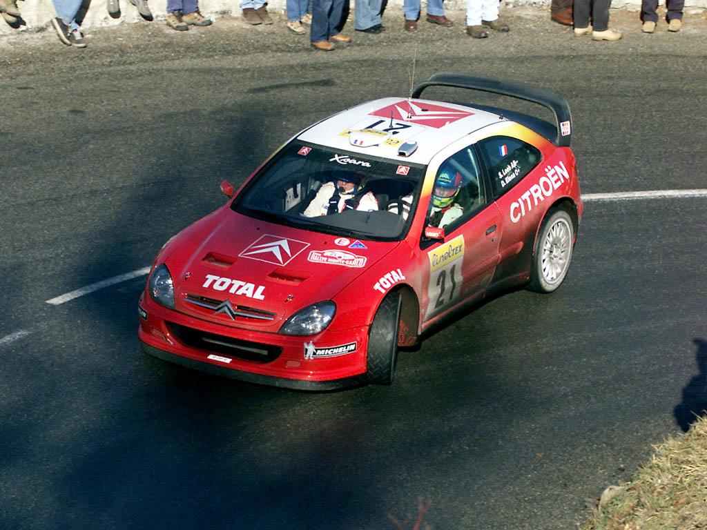 Sebastian Loeb Rallye Montecarlo 2002