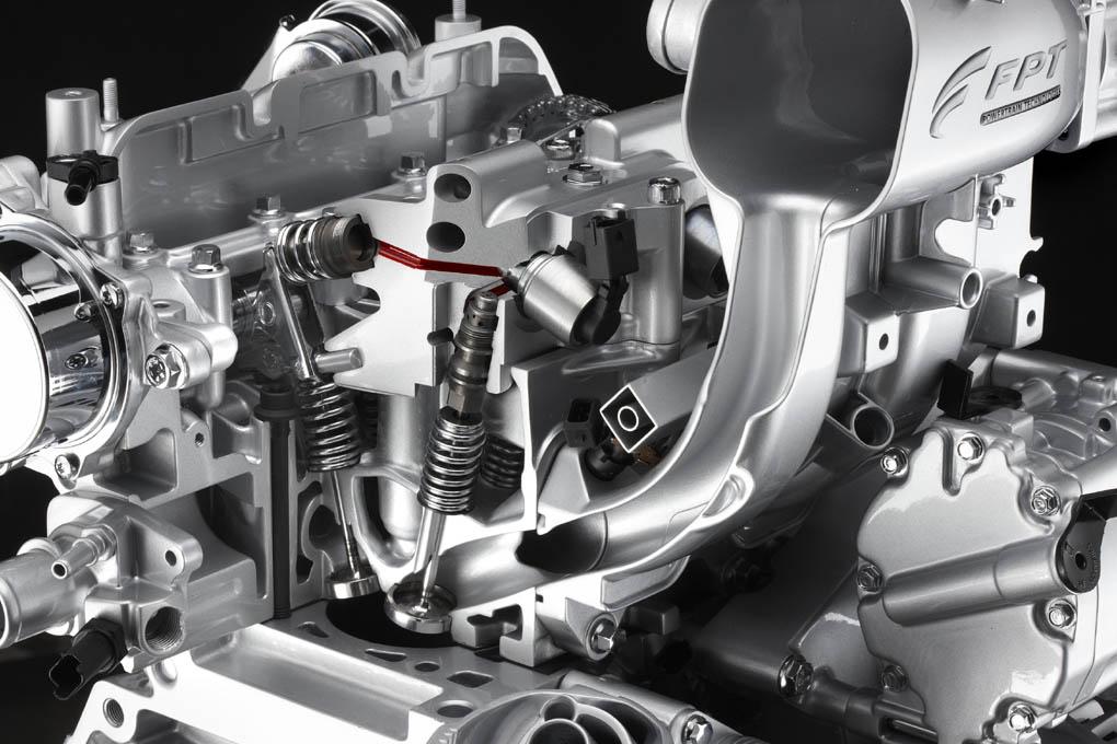 Motor Twinair del Fiat 500